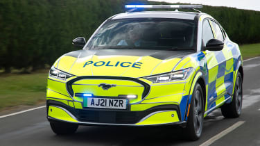 Ford Mustang Mach-E police-car concept