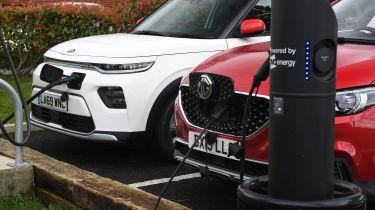 Kia Soul EV vs MG ZS EV