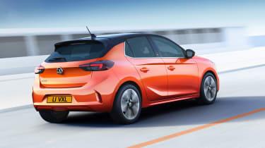 New Vauxhall Corsa-e official 2019 rear