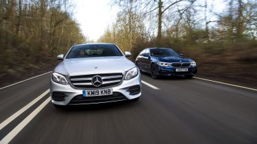 BMW 530e vs Mercedes E 300 e