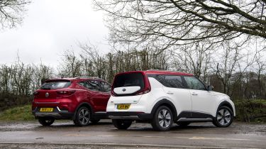 MG ZS EV vs Kia Soul EV