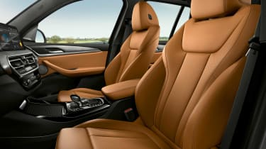 New BMW X3 interior