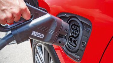 Electric car CCS charger
