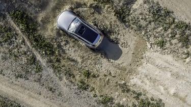 Elektromobilität wird abenteuerlustig. Die Fahrzeugstudie Mercedes-Benz EQC 4x4² Electric luxury goes off-road. The Mercedes-Benz EQC 4x4² vehicle study