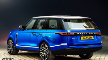 Range Rover electric rear