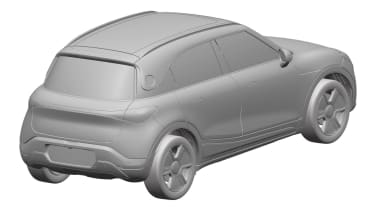 Smart electric SUV patent images