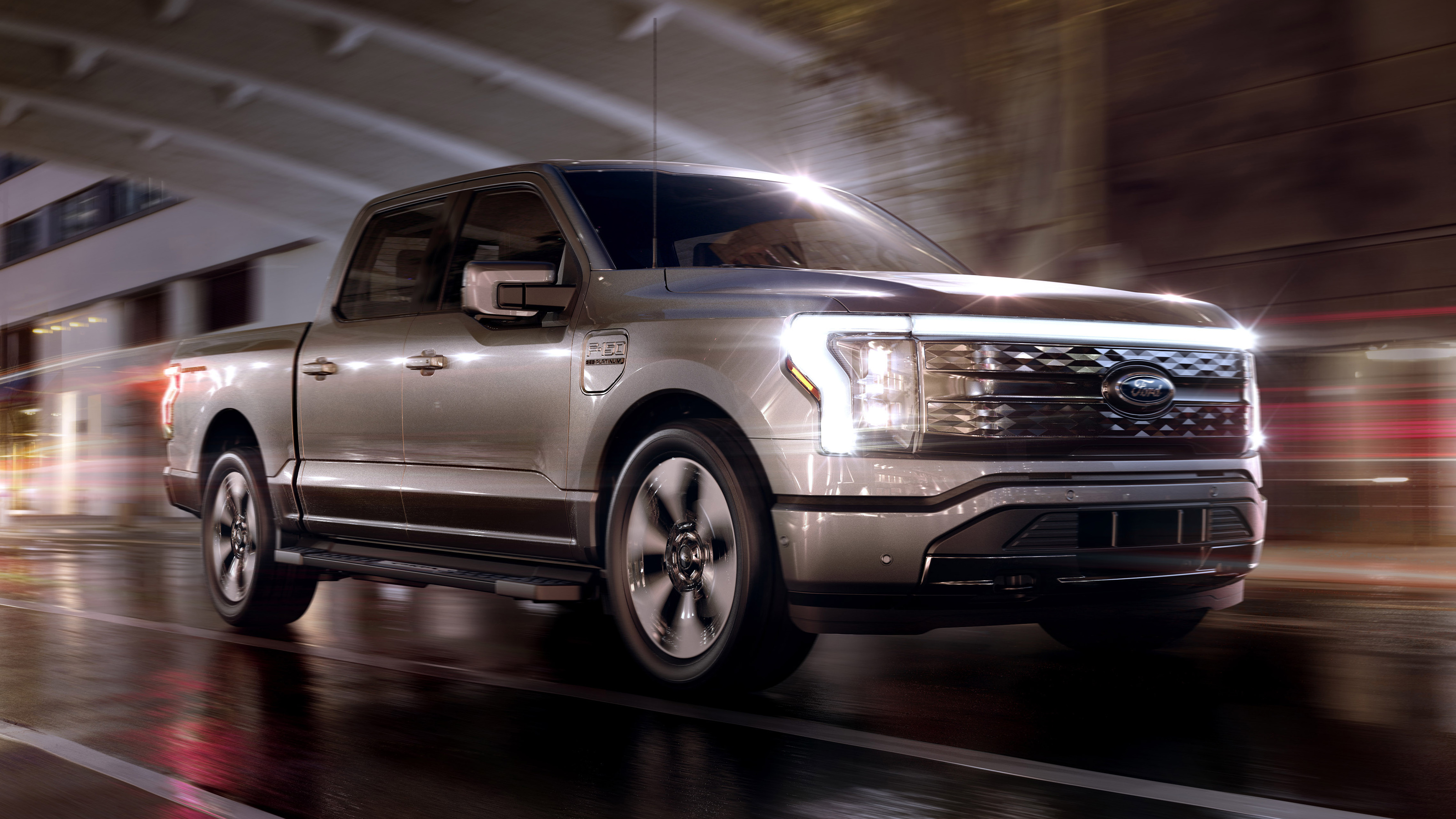 Ford F-150 Lightning official images | DrivingElectric