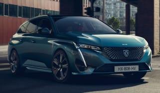 New 2022 Peugeot 308 SW plug-in hybrid estate
