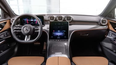 New 2021 Mercedes C-Class saloon