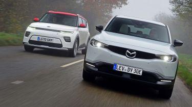 Mazda MX-30 vs Kia Soul EV