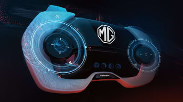 MG Cyberster concept art