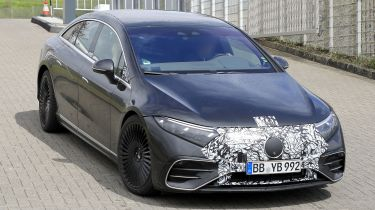 Mercedes-AMG EQS spotted testing