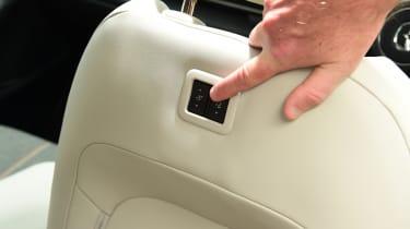 Mazda MX-30 GT Sport Tech - seat button