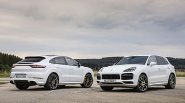 Porsche Cayenne Turbo S E-Hybrid SUV and Coupe pictures