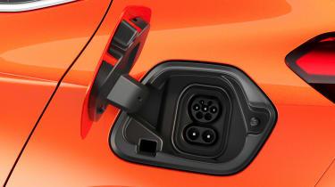 New Vauxhall Corsa-e official 2019 socket