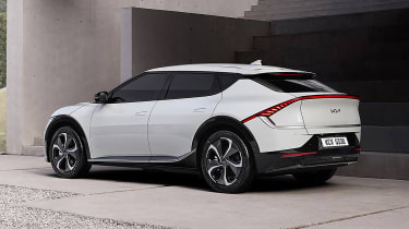 Kia EV6 rear