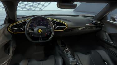 Ferrari 296 GTB with Assetto Fiorano pack interior