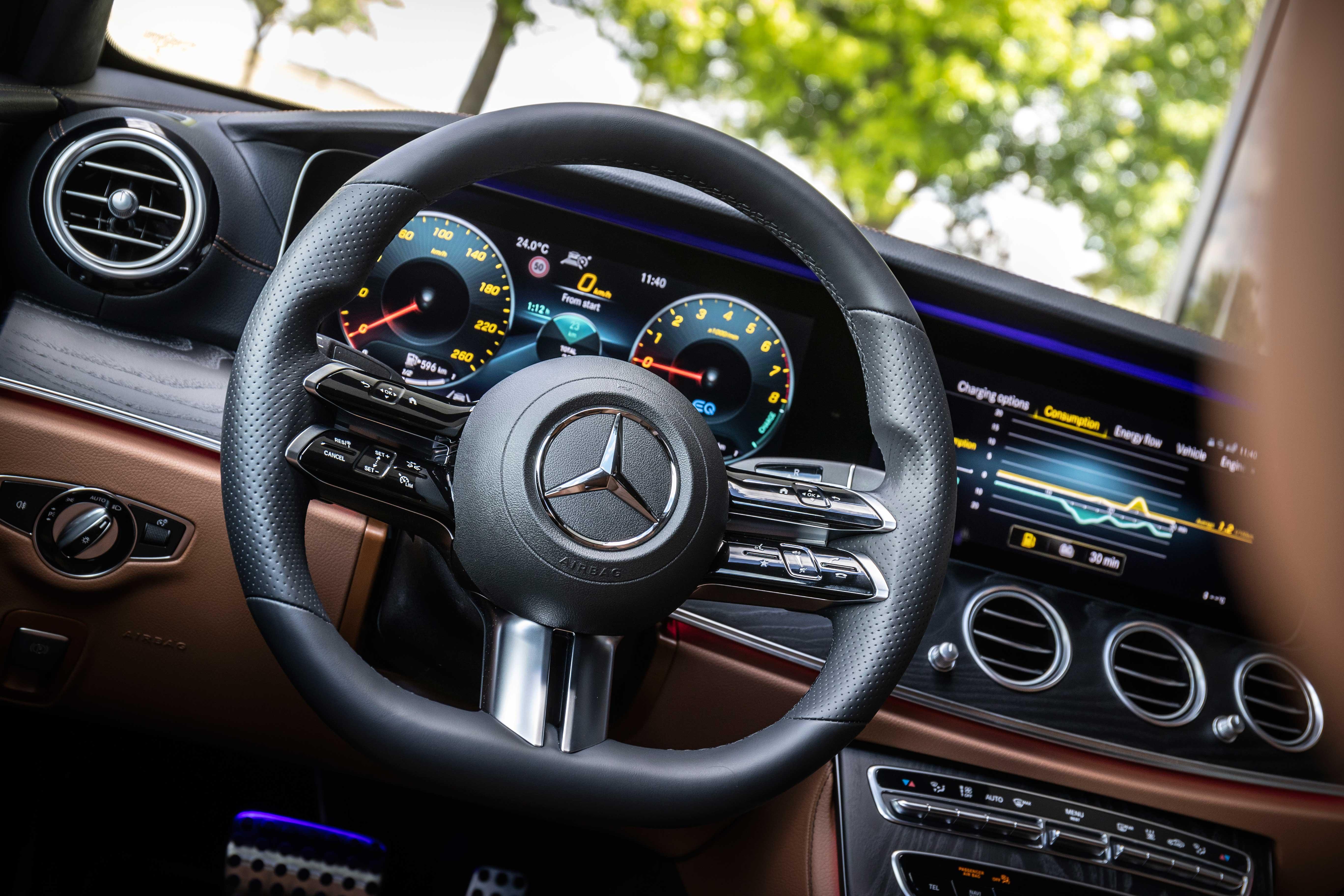 Mercedes E Class Hybrid Interior Comfort Drivingelectric
