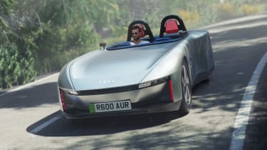 Aura electric roadster concept