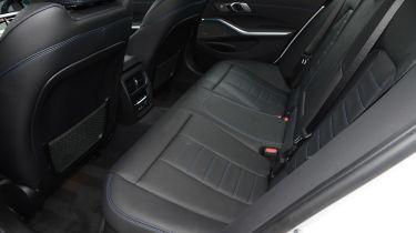 BMW 330e rear seats