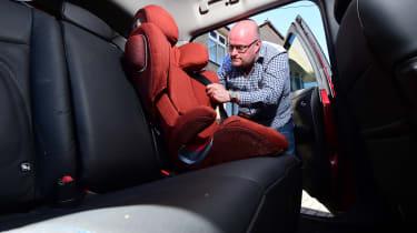 Nissan Leaf long-term test pictures
