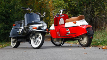 Cezeta electric scooter