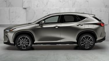 New 2022 Lexus NX 350h hybrid SUV