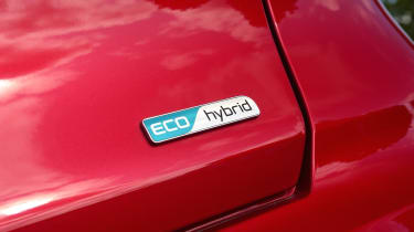 Kia Niro hybrid badge