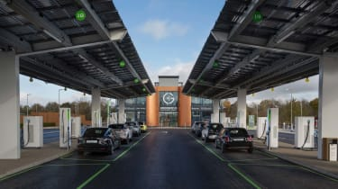 Gridserve Electric Forecourt