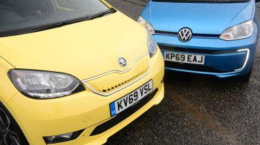 Skoda Citigo-e iV vs Volkswagen e-up!