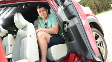 Mazda MX-30 GT Sport Tech - back seats