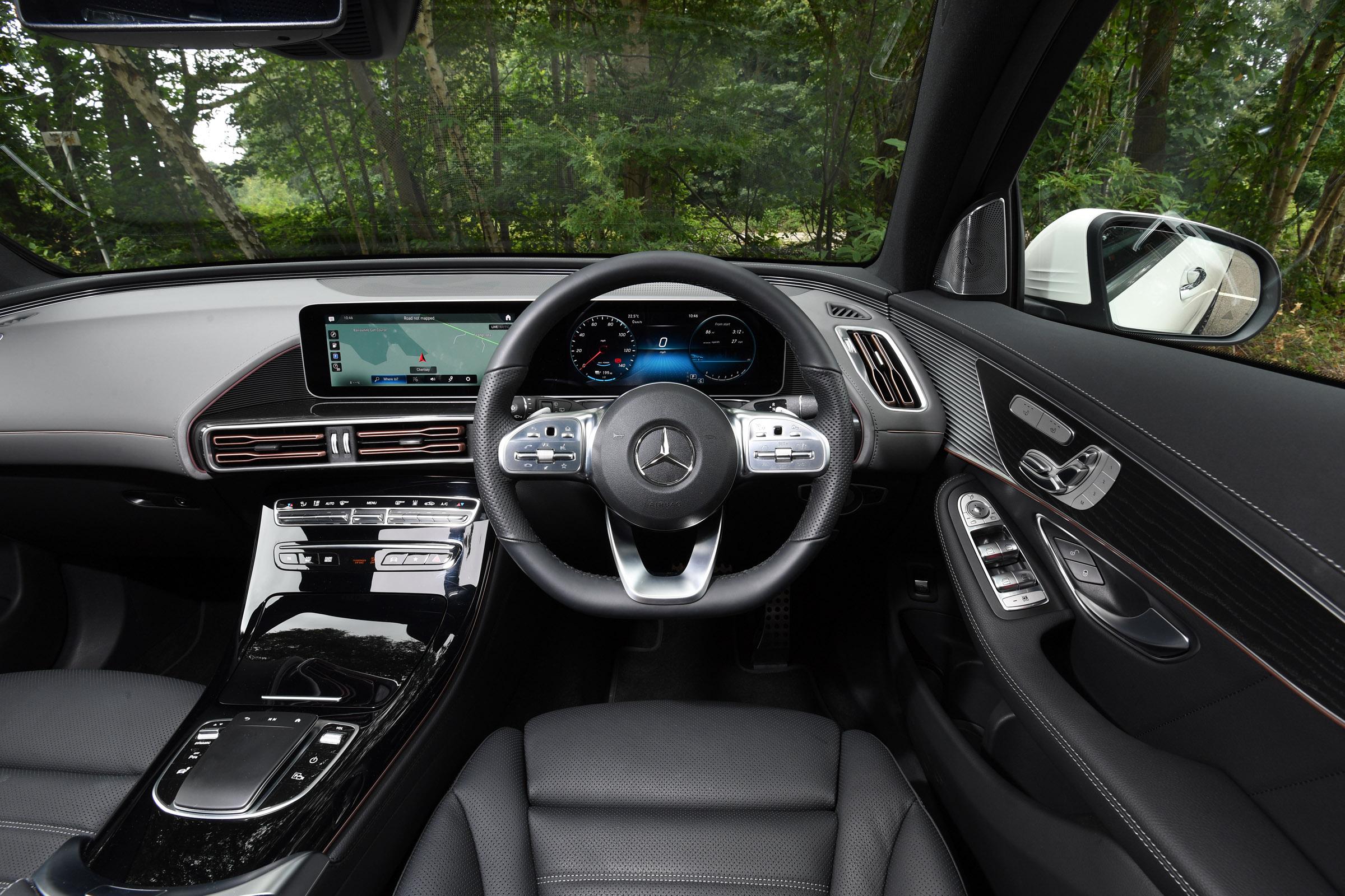 Mercedes EQC interior & comfort | DrivingElectric