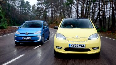 Volkswagen e-up! vs Skoda Citigo-e