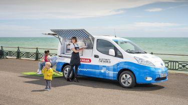 Nissan ice-cream van
