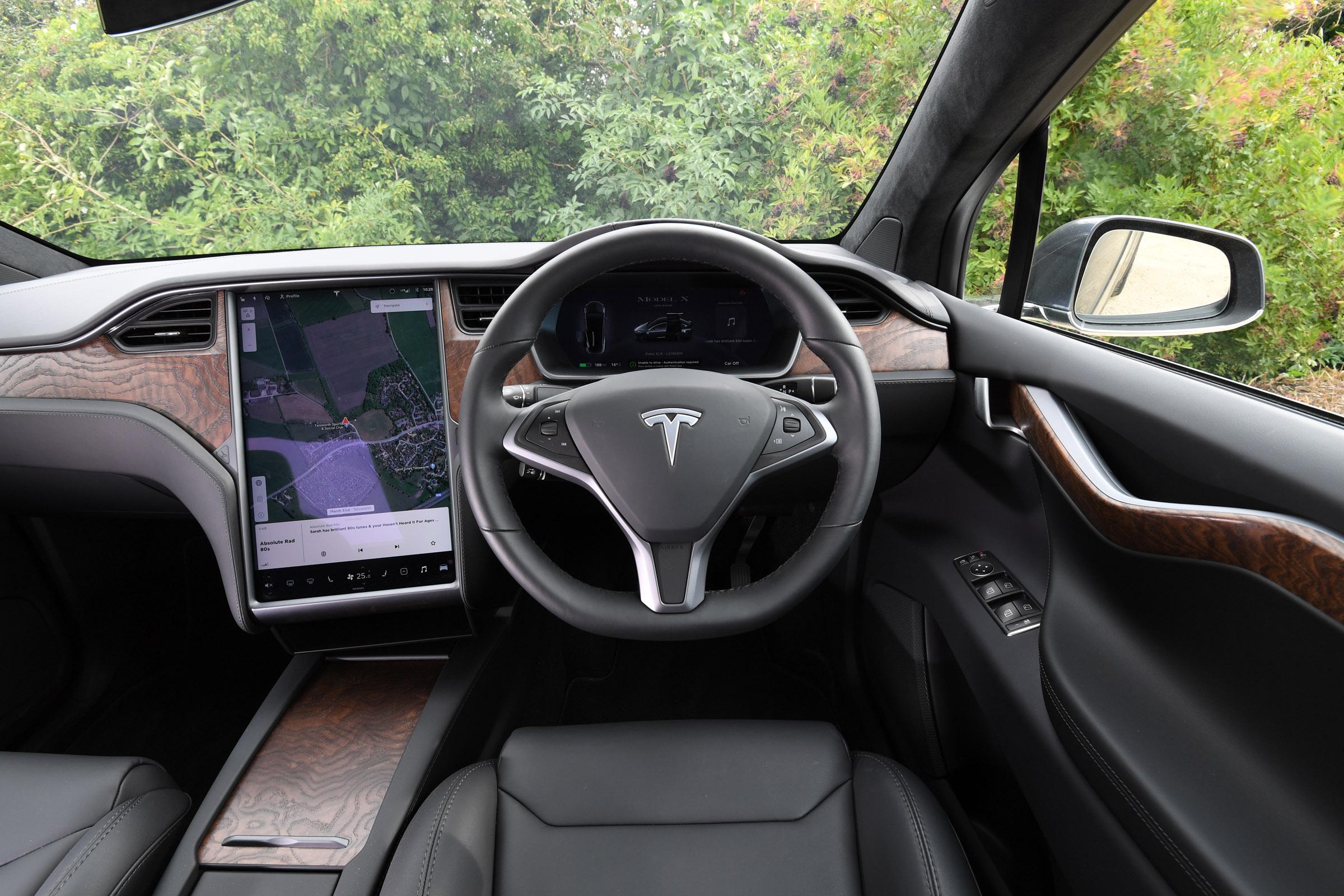 Tesla Model X Interior Comfort Drivingelectric