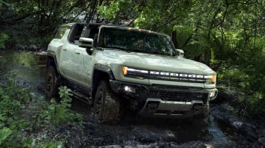 Electric GMC Hummer SUV - Exterior