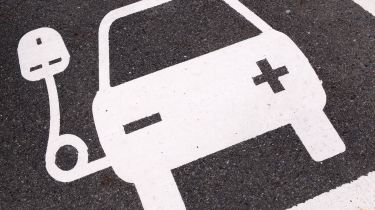 Pros and cons of electric company cars - illustration