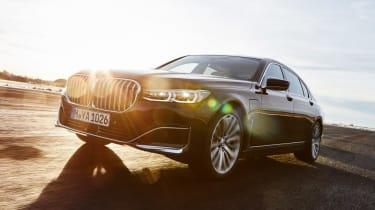 BMW 7 Series PHEV prototype drive
