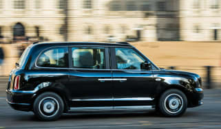 LEVC TX electric London taxi