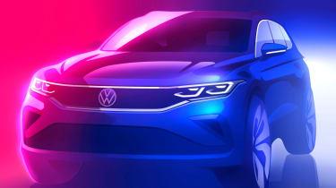 New Volkswagen Tiguan sketch