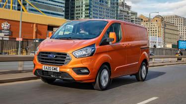Ford Transit Custom PHEV hybrid