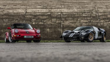 Everrati电动福特GT40和保时捷911