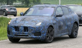 New 2022 Maserati Grecale SUV spied testing