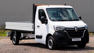 Renault Master E-TECH tipper conversion van