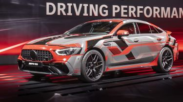 Mercedes-AMG hybrid and electric