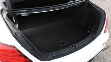 Mercedes E-Class hybrid boot