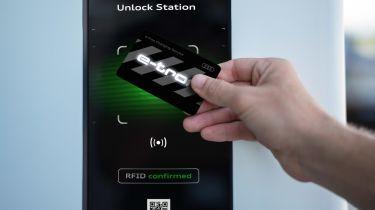 Audi e-tron charging service card