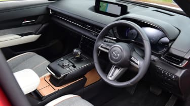 Mazda MX-30 GT Sport Tech - interior