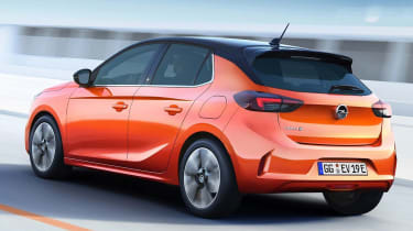 Vauxhall Corsa leaked pic rear