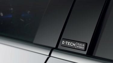 E3 VERSION - E-TECH SIDE BADGE ON B-PILLAR
